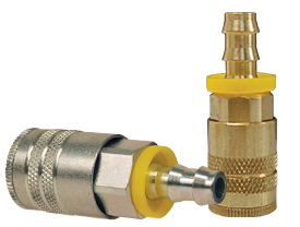 Air Chief Industrial Semi-Auto Coupler Push-On Hose Barb