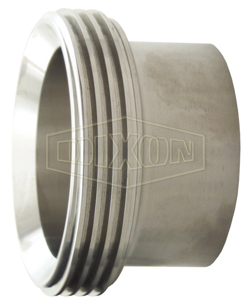 Long Threaded Bevel Seat Weld Ferrule