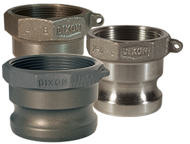 Dixon® Boss-Lock™ Cam & Groove Type A Adapter x Female NPT